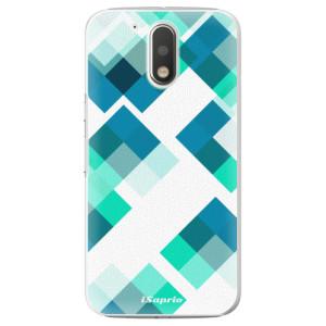 Plastové pouzdro iSaprio Abstract Squares 11 na mobil Lenovo Moto G4 / G4 Plus