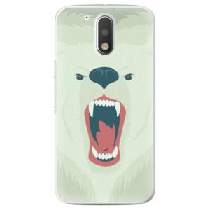 Plastové pouzdro iSaprio Angry Bear na mobil Lenovo Moto G4 / G4 Plus