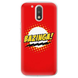 Plastové pouzdro iSaprio Bazinga 01 na mobil Lenovo Moto G4 / G4 Plus