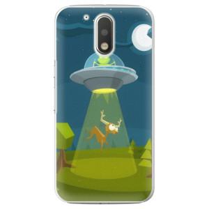 Plastové pouzdro iSaprio Alien 01 na mobil Lenovo Moto G4 / G4 Plus