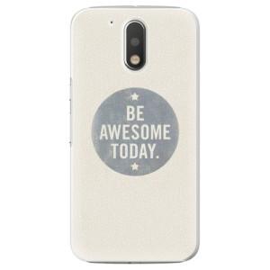 Plastové pouzdro iSaprio Awesome 02 na mobil Lenovo Moto G4 / G4 Plus