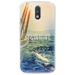 Plastové pouzdro iSaprio Beginning na mobil Lenovo Moto G4 / G4 Plus