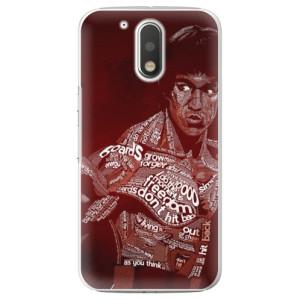 Plastové pouzdro iSaprio Bruce Lee na mobil Lenovo Moto G4 / G4 Plus