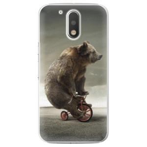 Plastové pouzdro iSaprio Bear 01 na mobil Lenovo Moto G4 / G4 Plus