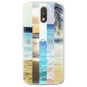 Plastové pouzdro iSaprio Aloha 02 na mobil Lenovo Moto G4 / G4 Plus