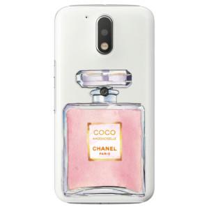 Plastové pouzdro iSaprio Chanel Rose na mobil Lenovo Moto G4 / G4 Plus