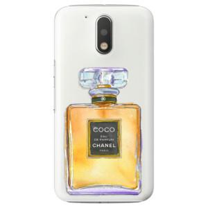 Plastové pouzdro iSaprio Chanel Gold na mobil Lenovo Moto G4 / G4 Plus