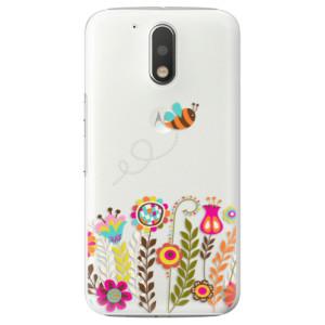 Plastové pouzdro iSaprio Bee 01 na mobil Lenovo Moto G4 / G4 Plus
