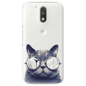Plastové pouzdro iSaprio Šílená Číča 01 na mobil Lenovo Moto G4 / G4 Plus