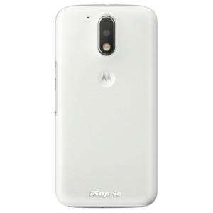Plastové pouzdro iSaprio 4Pure mléčné bez potisku na mobil Lenovo Moto G4 / G4 Plus