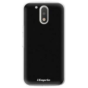 Plastové pouzdro iSaprio 4Pure černé na mobil Lenovo Moto G4 / G4 Plus