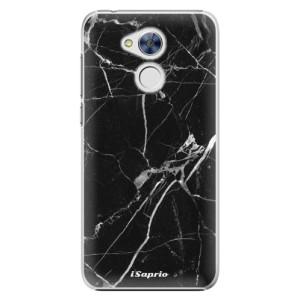 Plastové pouzdro iSaprio black Marble 18 na mobil Huawei Honor 6A