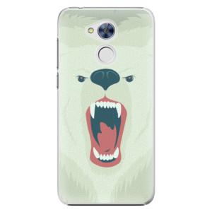 Plastové pouzdro iSaprio Angry Bear na mobil Huawei Honor 6A