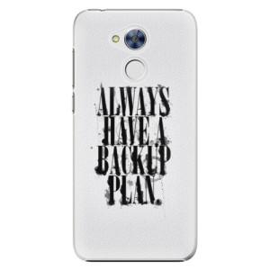 Plastové pouzdro iSaprio Backup Plan na mobil Huawei Honor 6A