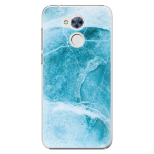 Plastové pouzdro iSaprio Blue Marble na mobil Huawei Honor 6A