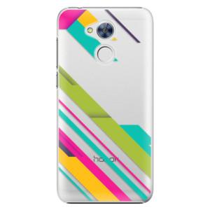 Plastové pouzdro iSaprio Barevné Pruhy 03 na mobil Honor 6A
