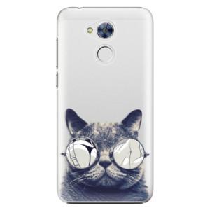 Plastové pouzdro iSaprio Šílená Číča 01 na mobil Honor 6A