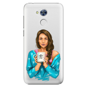 Plastové pouzdro iSaprio Coffee Now Brunetka na mobil Honor 6A