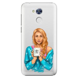 Plastové pouzdro iSaprio Coffee Now Zrzka na mobil Honor 6A