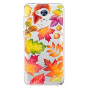 Plastové pouzdro iSaprio Autumn Leaves 01 na mobil Huawei Honor 6A