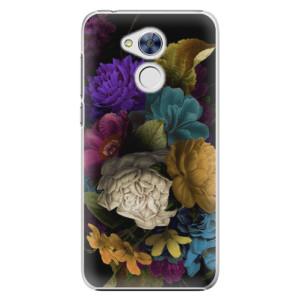 Plastové pouzdro iSaprio Temné Květy na mobil Honor 6A