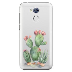 Plastové pouzdro iSaprio Kaktusy 01 na mobil Honor 6A