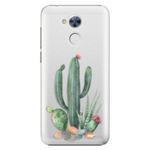 Plastové pouzdro iSaprio Kaktusy 02 na mobil Honor 6A