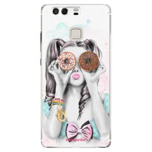 Plastové pouzdro iSaprio Donutky Očiska 10 na mobil Huawei P9