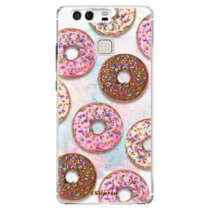 Plastové pouzdro iSaprio Donutky Všude 11 na mobil Huawei P9