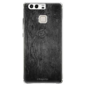 Plastové pouzdro iSaprio black Wood 13 na mobil Huawei P9