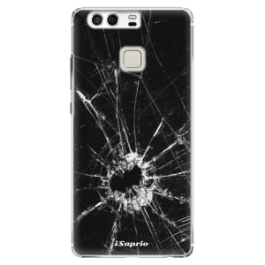 Plastové pouzdro iSaprio Broken Glass 10 na mobil Huawei P9