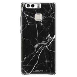 Plastové pouzdro iSaprio black Marble 18 na mobil Huawei P9
