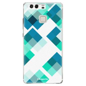 Plastové pouzdro iSaprio Abstract Squares 11 na mobil Huawei P9
