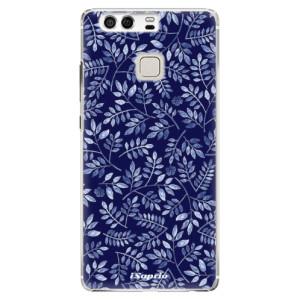 Plastové pouzdro iSaprio Blue Leaves 05 na mobil Huawei P9