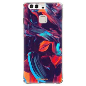 Plastové pouzdro iSaprio Barevný mramor 19 na mobil Huawei P9