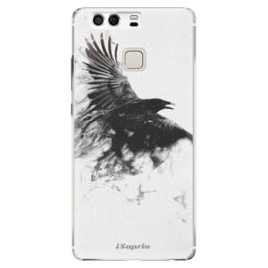 Plastové pouzdro iSaprio Havran 01 na mobil Huawei P9