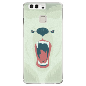 Plastové pouzdro iSaprio Angry Bear na mobil Huawei P9