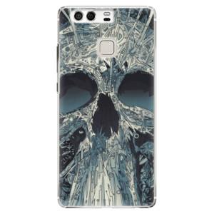Plastové pouzdro iSaprio Abstract Skull na mobil Huawei P9