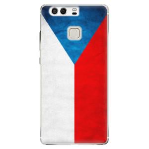 Plastové pouzdro iSaprio Česká Vlajka na mobil Huawei P9