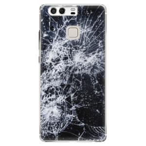 Plastové pouzdro iSaprio Praskliny na mobil Huawei P9