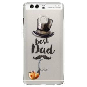 Plastové pouzdro iSaprio Best Dad na mobil Huawei P9