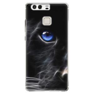 Plastové pouzdro iSaprio black Puma na mobil Huawei P9