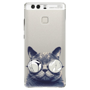 Plastové pouzdro iSaprio Šílená Číča 01 na mobil Huawei P9