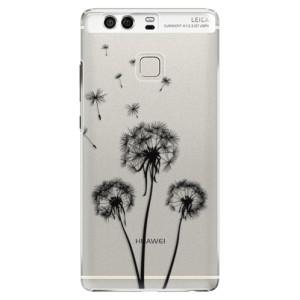 Plastové pouzdro iSaprio Tři Černé Pampelišky na mobil Huawei P9
