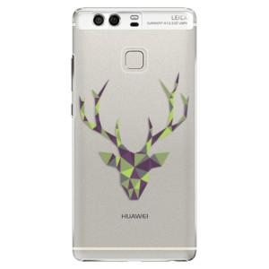 Plastové pouzdro iSaprio Zelený Jelínek na mobil Huawei P9