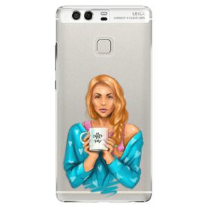 Plastové pouzdro iSaprio Coffee Now Zrzka na mobil Huawei P9