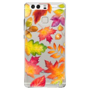 Plastové pouzdro iSaprio Autumn Leaves 01 na mobil Huawei P9