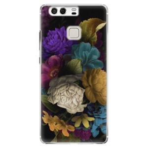 Plastové pouzdro iSaprio Temné Květy na mobil Huawei P9