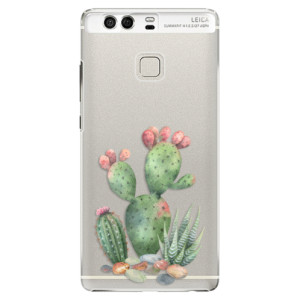 Plastové pouzdro iSaprio Kaktusy 01 na mobil Huawei P9