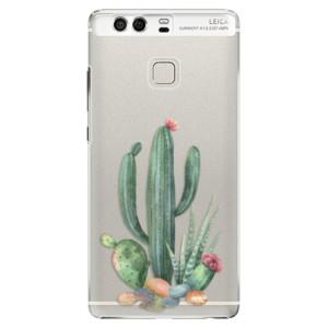 Plastové pouzdro iSaprio Kaktusy 02 na mobil Huawei P9